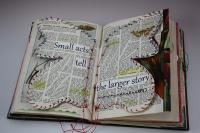 Maree McHugh's book art #1