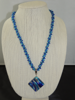 Kumihimo #2 necklace by Dot Newkirk