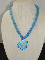 Kumihimo #3 necklace by Dot Newkirk