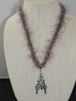 Kumihimo #4 necklace by Dot Newkirk